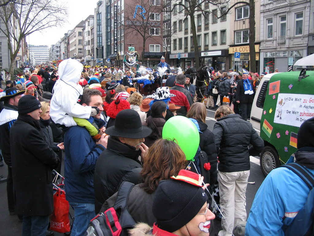 Carnaval Parade at the Theaterstra�e street