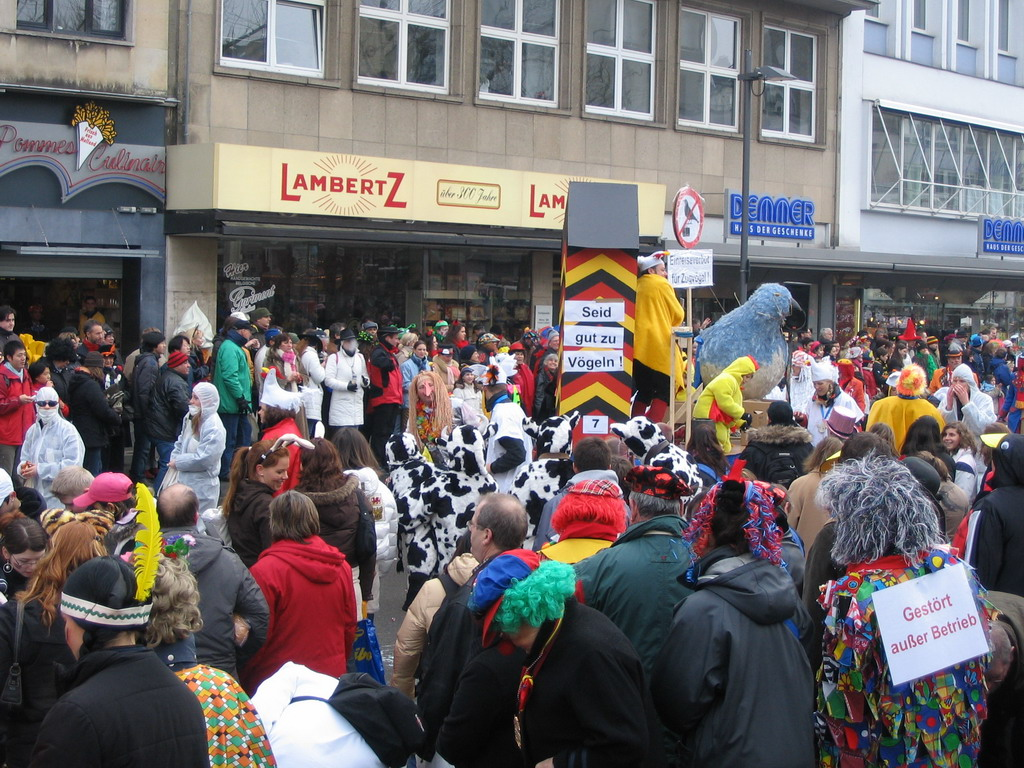Carnaval Parade at the Friedrich-Wilhelm-Platz square
