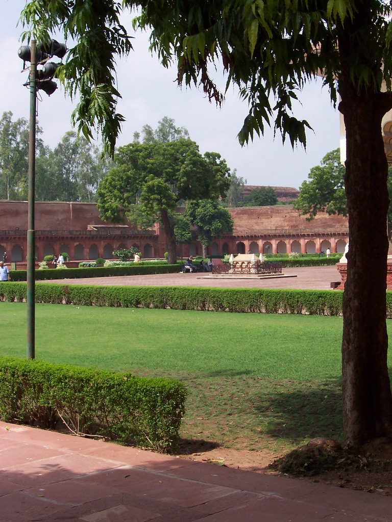 Anguri Bagh gardens at the Agra Fort