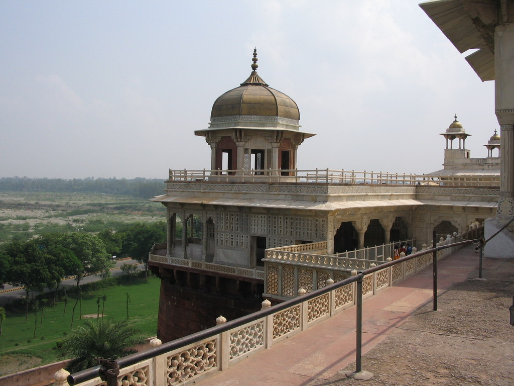 The Musamman Burj tower at the Agra Fort