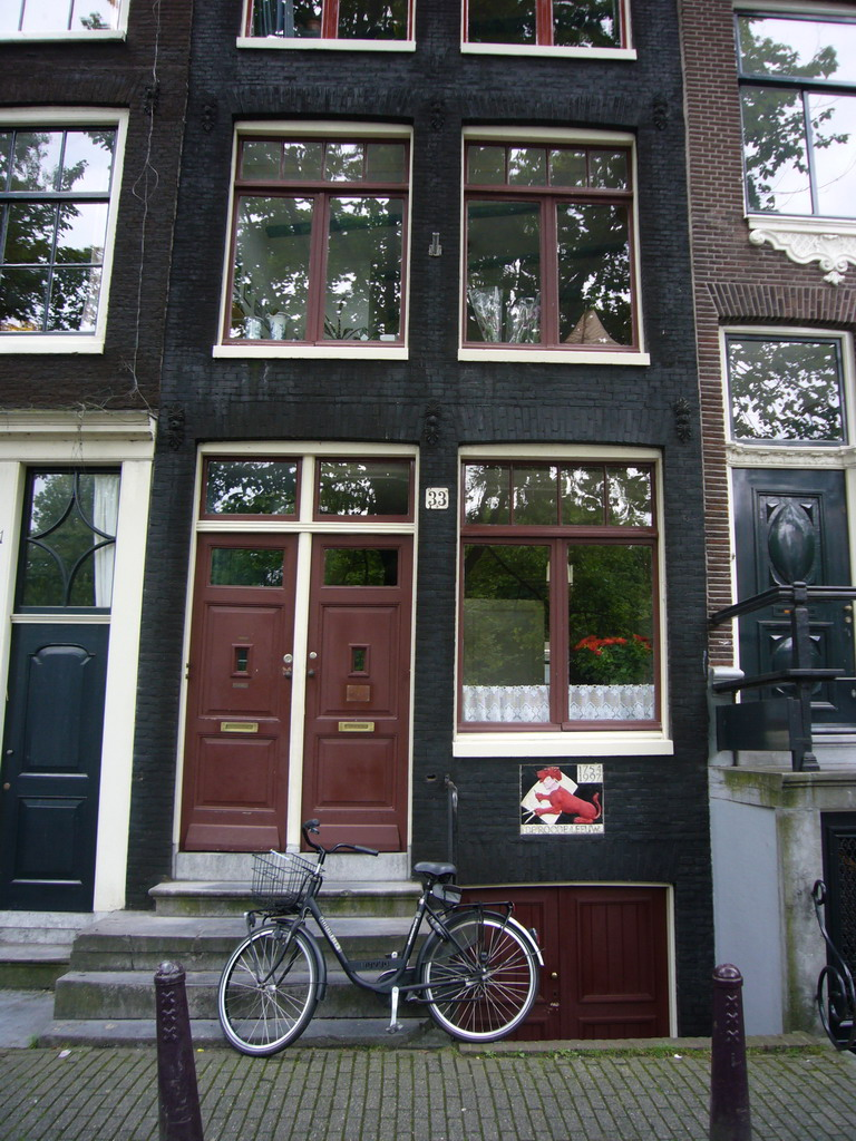Front of the Brouwersgracht 33 house