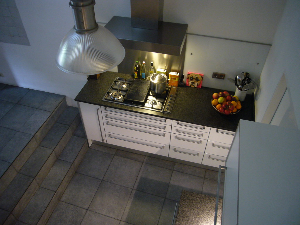 Kitchen of the Brouwersgracht 33 house, viewed from above