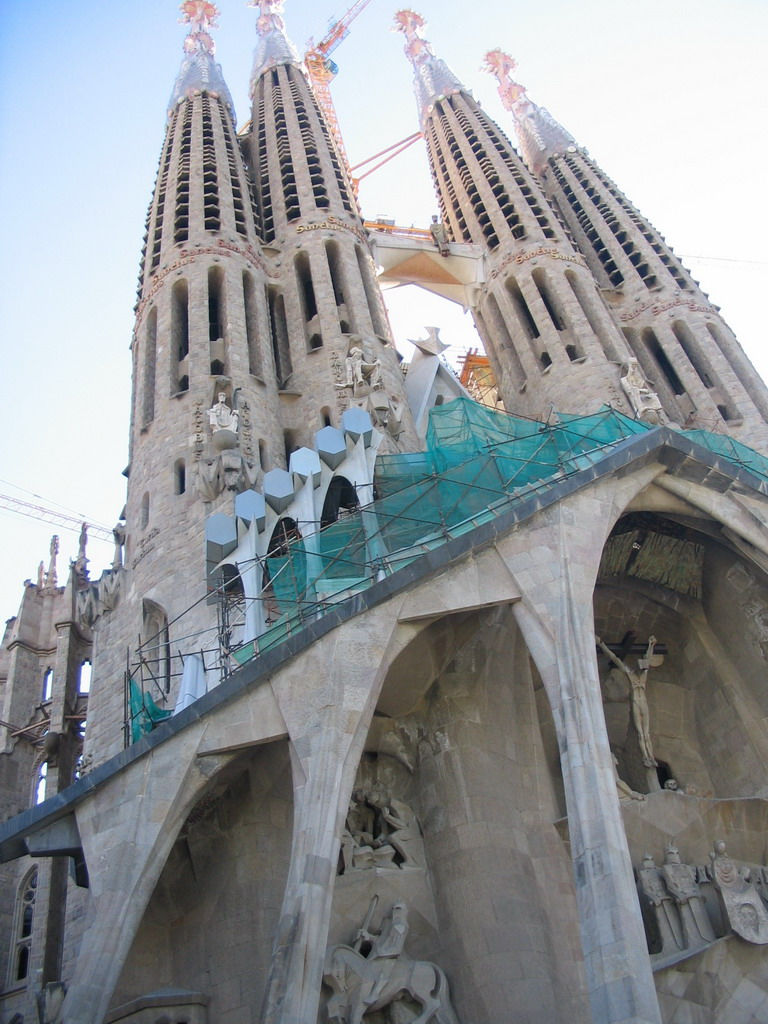 Front of the Sagrada Fam�lia church