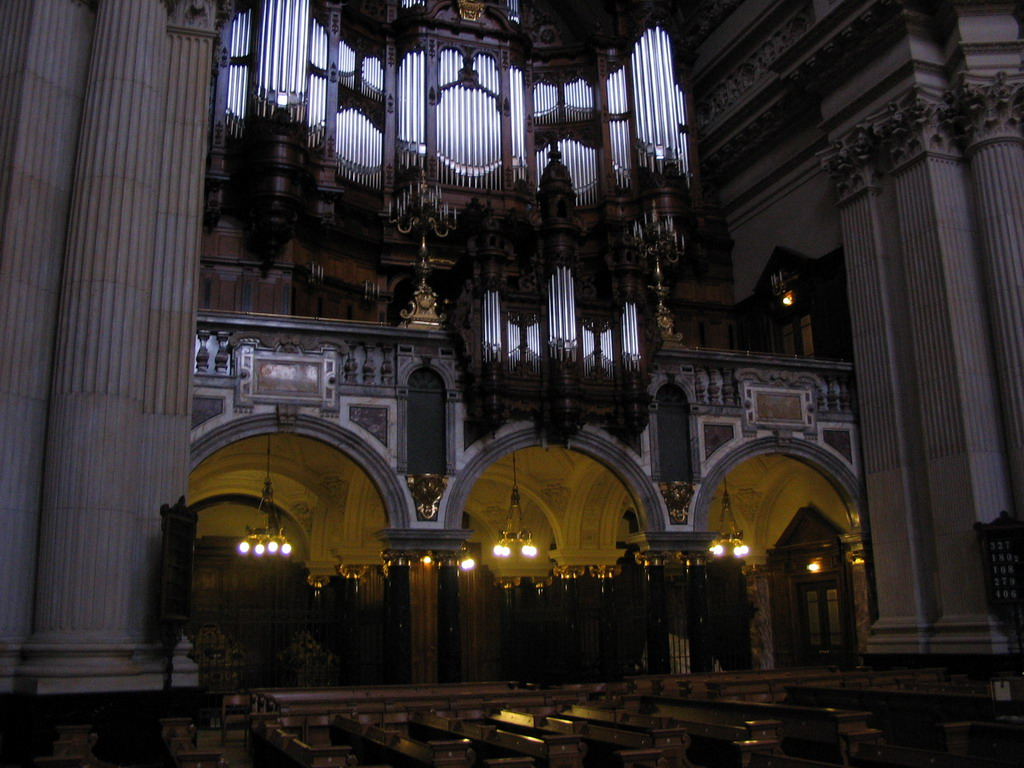 The organ of the Berlin Cathedral