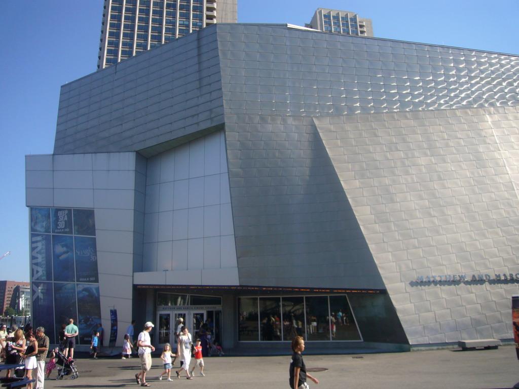 Simons IMAX, New England Aquarium Theatre | Boston, 02110 ...