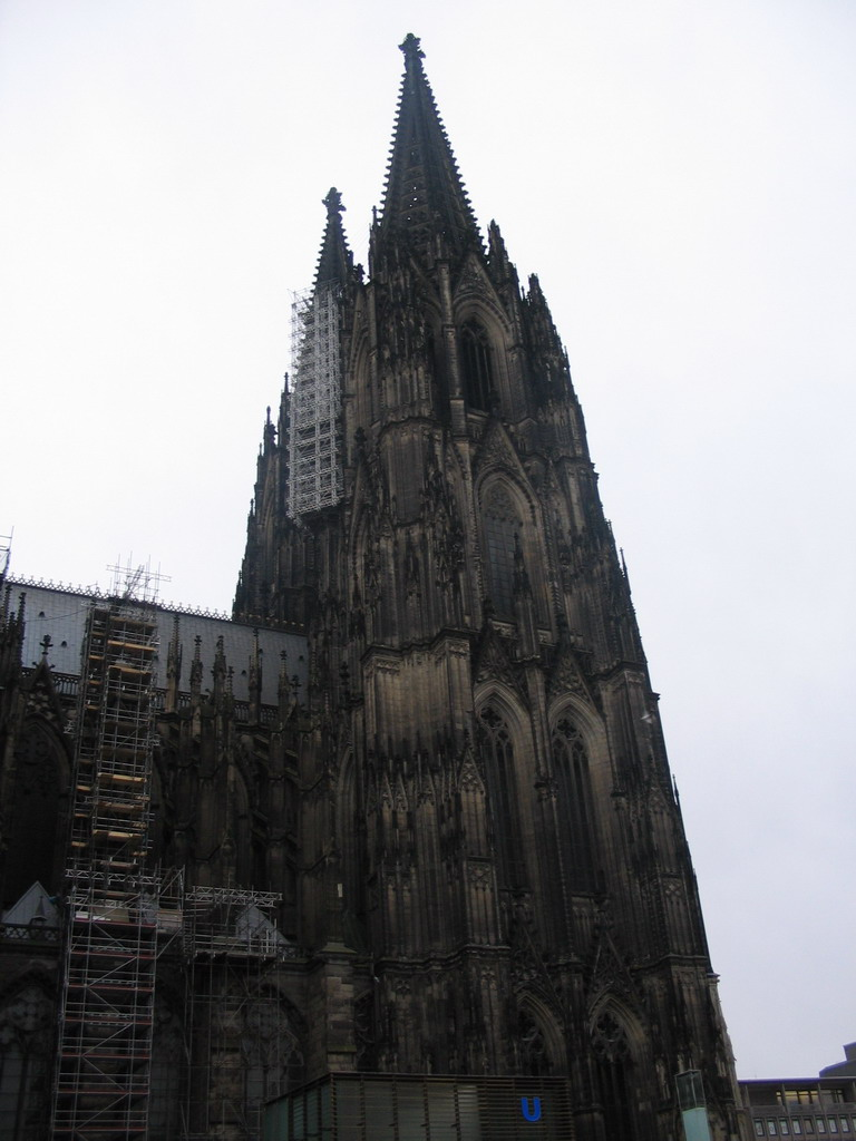 The north tower of the Cologne Cathedral