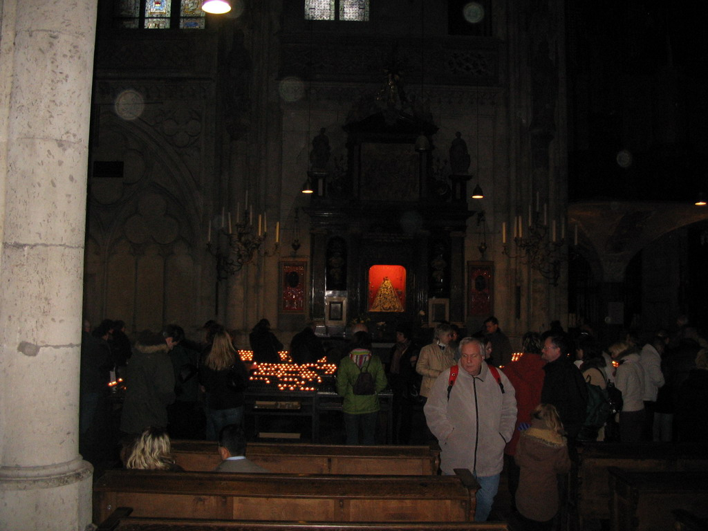Side chapel in the Cologne Cathedral