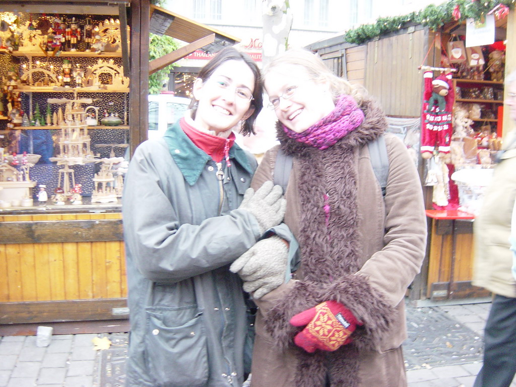Ana and Nardy at the Cologne Christmas Market