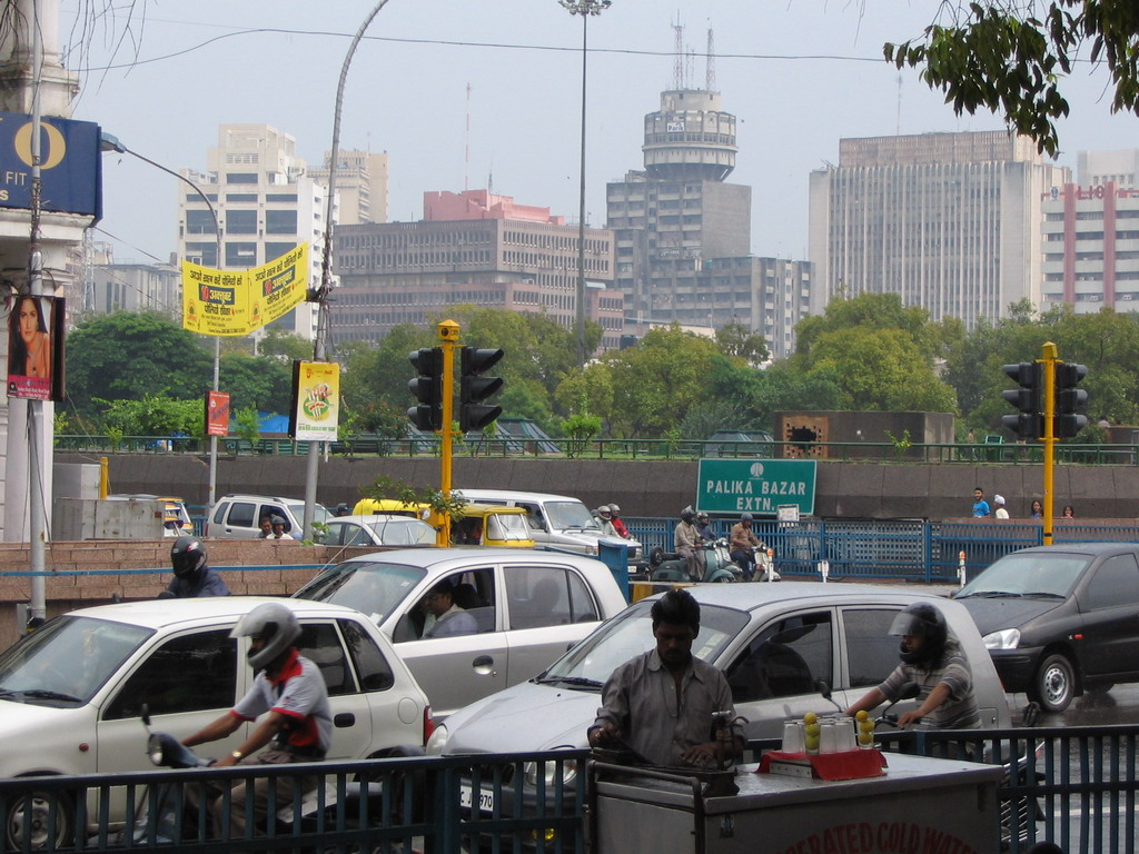 Cars at Connaught Place