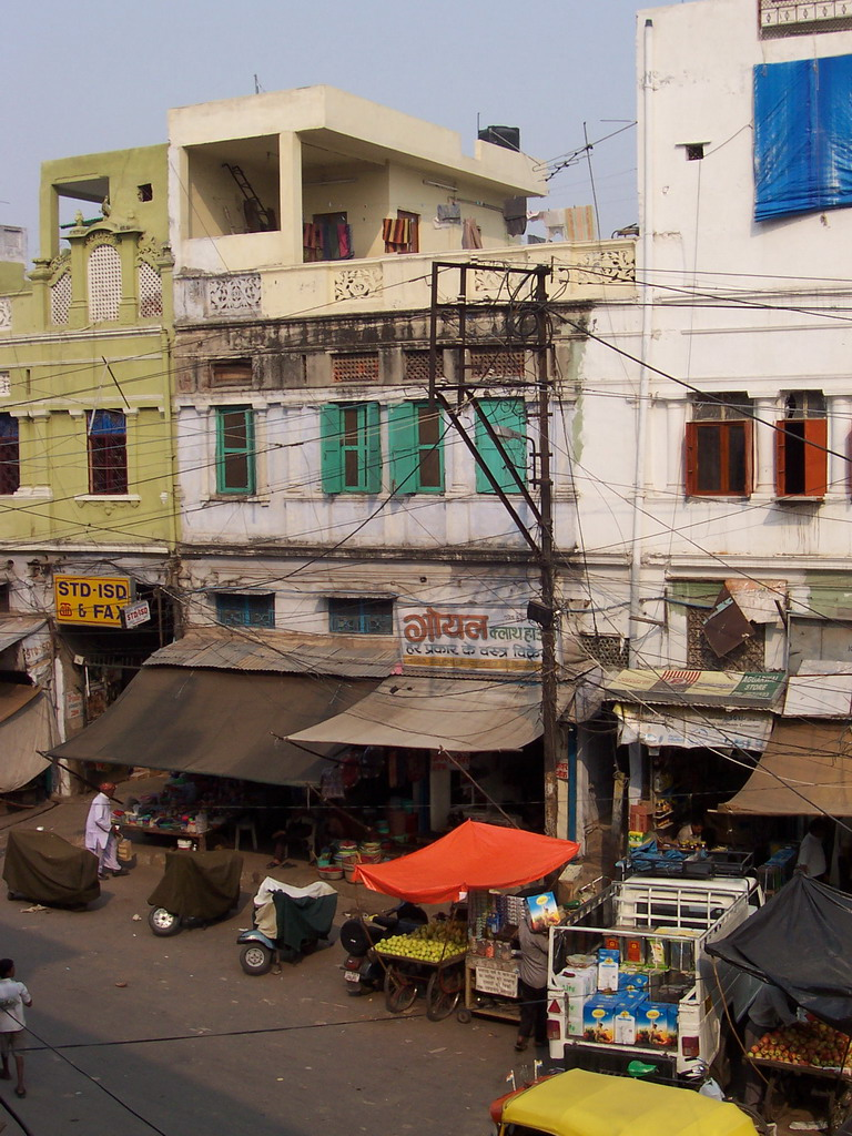 Ramdwara Road, viewed from the Post Office