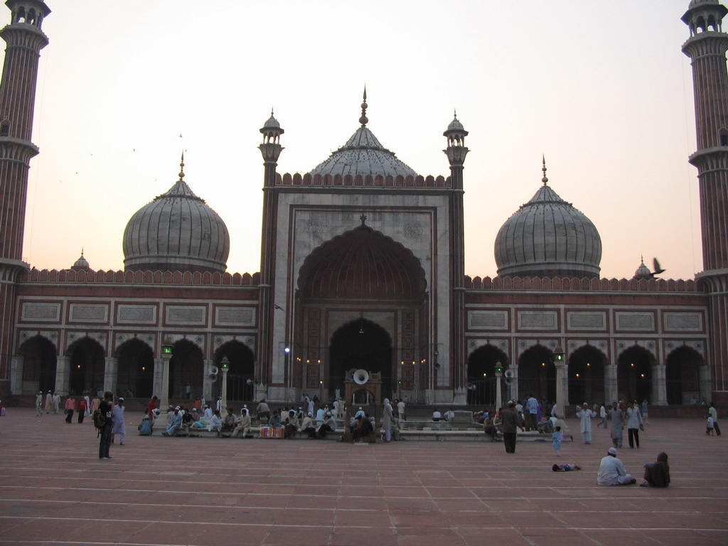 Front of the Jami Masjid mosque