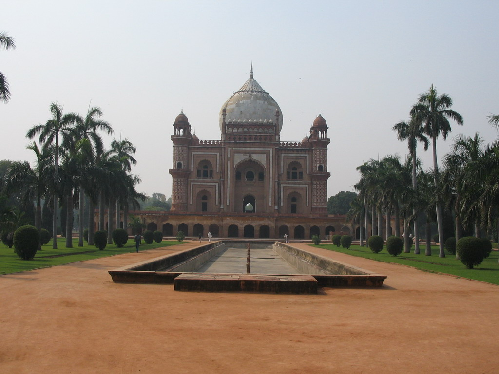 Front of Safdarjung`s Tomb