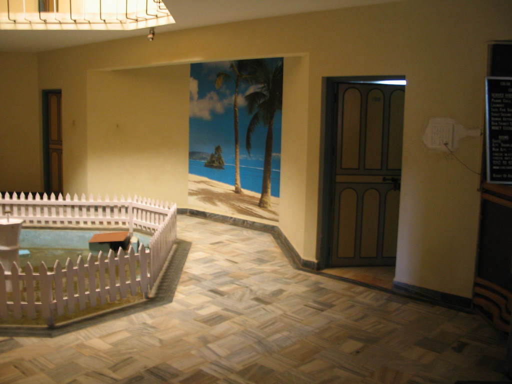 Entrance to our room in the Colva Beach Resort