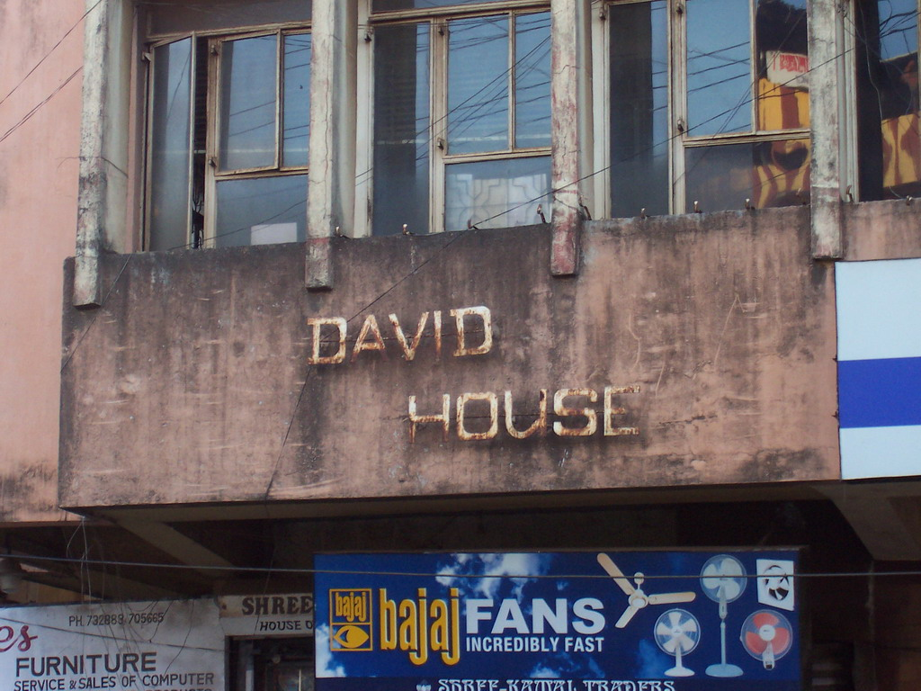 Building `David House` at Margao
