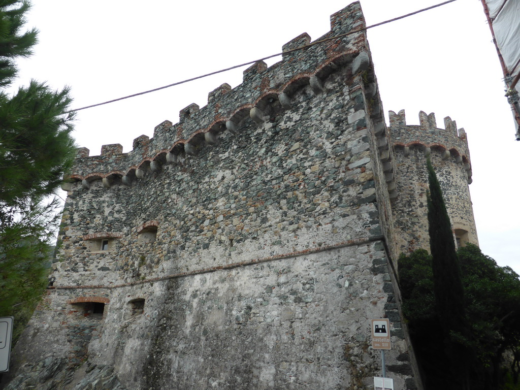 The south side of the Levanto Castle