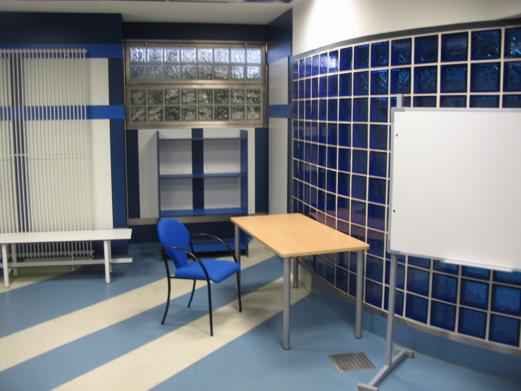 The Coach`s Room in the Santiago Bernab�u stadium