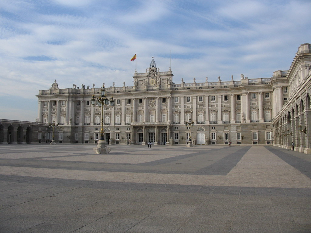 The south side of the Royal Palace