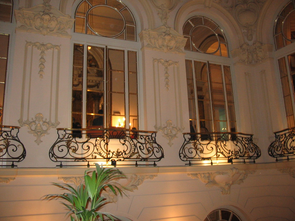 Windows and balconies at the Casino de Madrid building