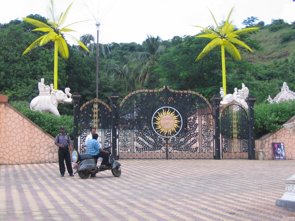 The entrance of the Suraj Water Park