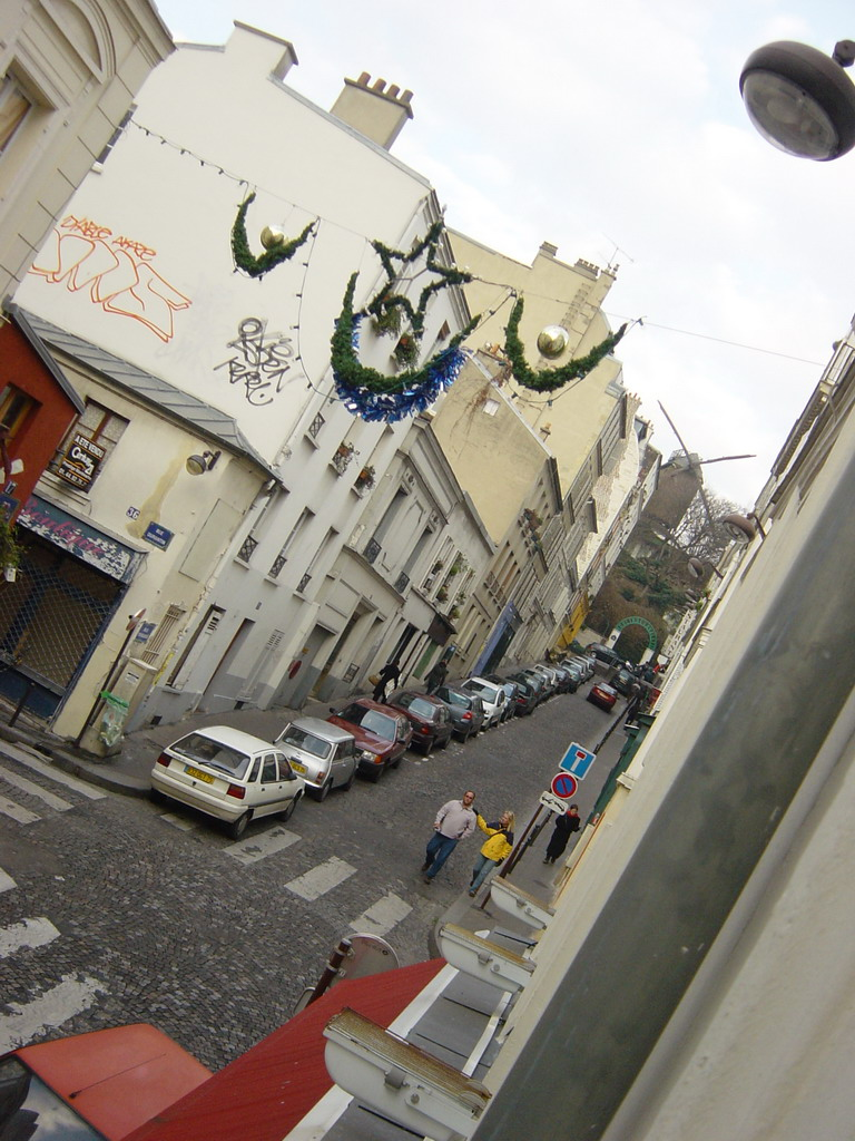 View from our room in the Hotel Comfort Place du Tertre