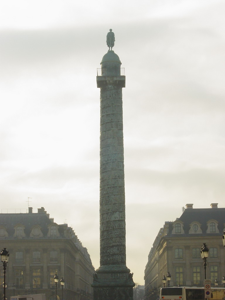 The Colonne de Vend�me, at the Place Vend�me