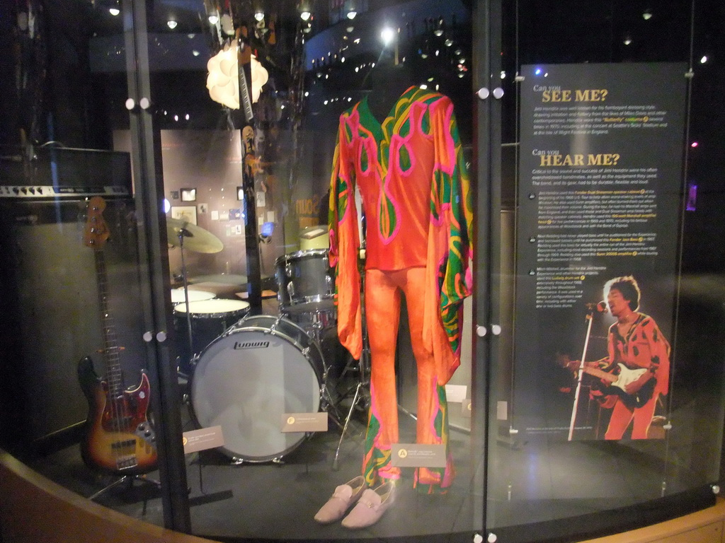 Jimi Hendrix Items At The Experience Music Project Science Fiction Museum