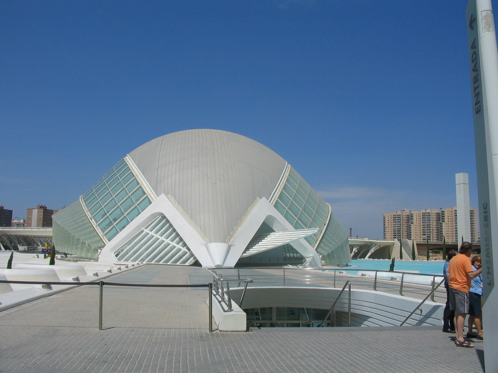 The Hemisf�ric cinema at the Ciudad de las Artes y las Ciencias complex