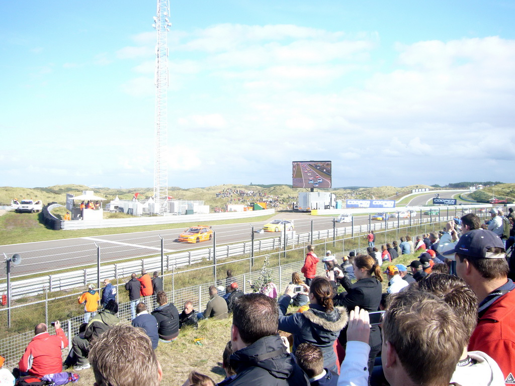 Race cars at Circuit Zandvoort, during the break of the 2007-08 Dutch A1 Grand Prix of Nations